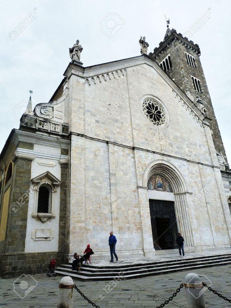 Italia, Sarzana, Facciata Della Della Cattedrale Stock Photo, Picture And Royalty Free Image. Pic 14720355.