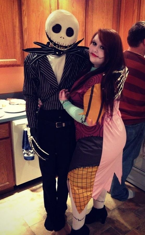 jack and sally sexy halloween costume ideashalloween - Best Halloween Costumes For Tall Guys