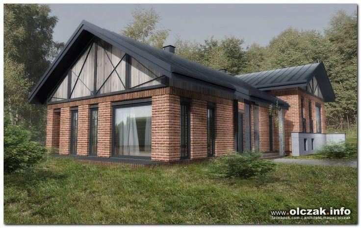 Architekt Maciej Olczak - dom w stylu fabryki