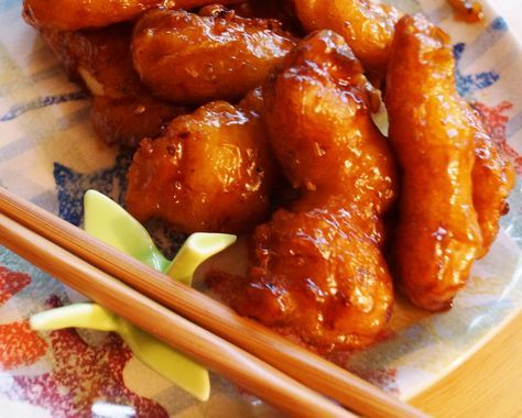 Recipe from Disney World! General Tso's Chicken, as is served at Nine Dragons, EPCOT.