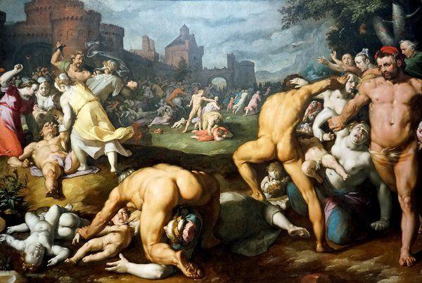 Massacre of the innocents (Cornelis van Haarlem)
