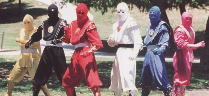 Mighty Morphin Power Rangers: Ninja Rangers