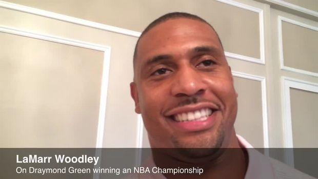 LaMarr Woodley on Draymond Green's NBA championship, his football camp ... Draymond Green  #DraymondGreen