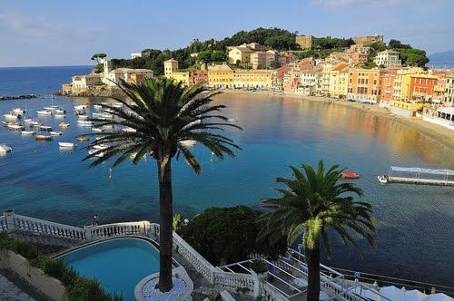 Sestri Levante, Liguria, Italy - nearby Portofino and the Cinque Terre