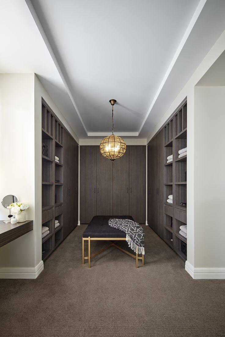 Clean, elegant, walk in closets