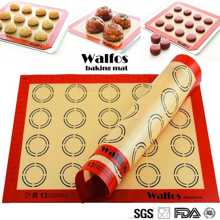 non stick  silicone baking mat Rolling Dough Mat oven liner cookie  baking sheet Macaron mat baking tools