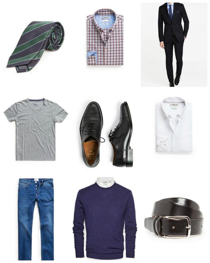Aparador Tampo De Vidro Branco ~ Aquí tenéis los básicos de cualquier fondo armario masculino Ropa Invierno Pinterest Blog