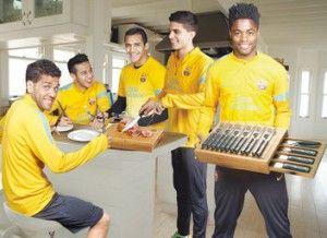 Llévate los Cuchillos y Tenedores de Carne del Barça con Mundo Deportivo