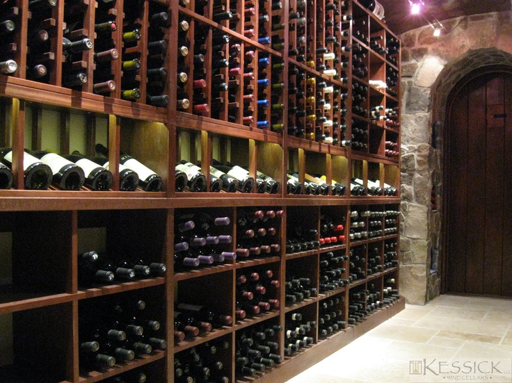 Wine racks and cellar design by Kessick Wine Cellars & 81 best Wine Cellars - Kessick Wine Cellars images on Pinterest ...