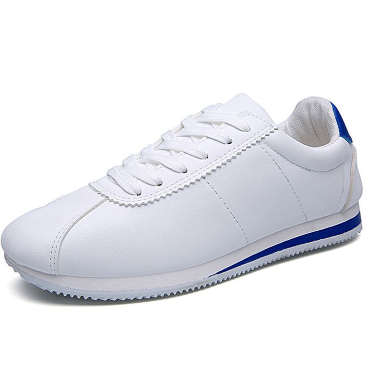 ==> [Free Shipping] Buy Best Men Casual Shoes Outdoor Leather Luxury Brand 2017 British Style Designer Mens Trainers Breathable Flats White Gym Shoes Sapatos Online with LOWEST Price   32797398338
