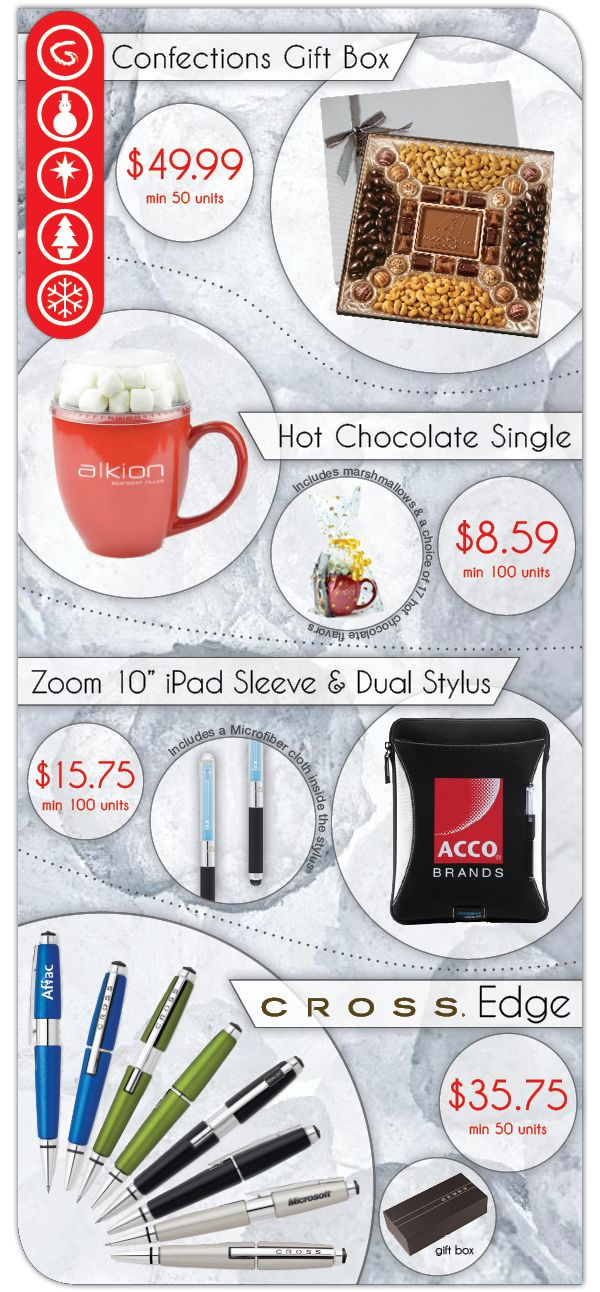 Branded Holiday Gift Ideas!