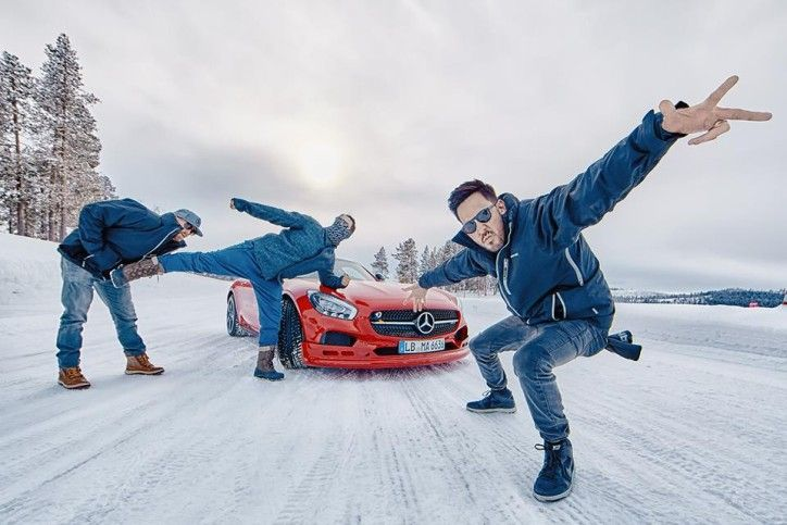 Mike Shinoda, Phoenix and Joe Hahn of Linkin Park pose with the Mercedes-AMG GT S.Mike Shinoda, Phoenix and Joe Hahn of the band Linkin Park recently went on...