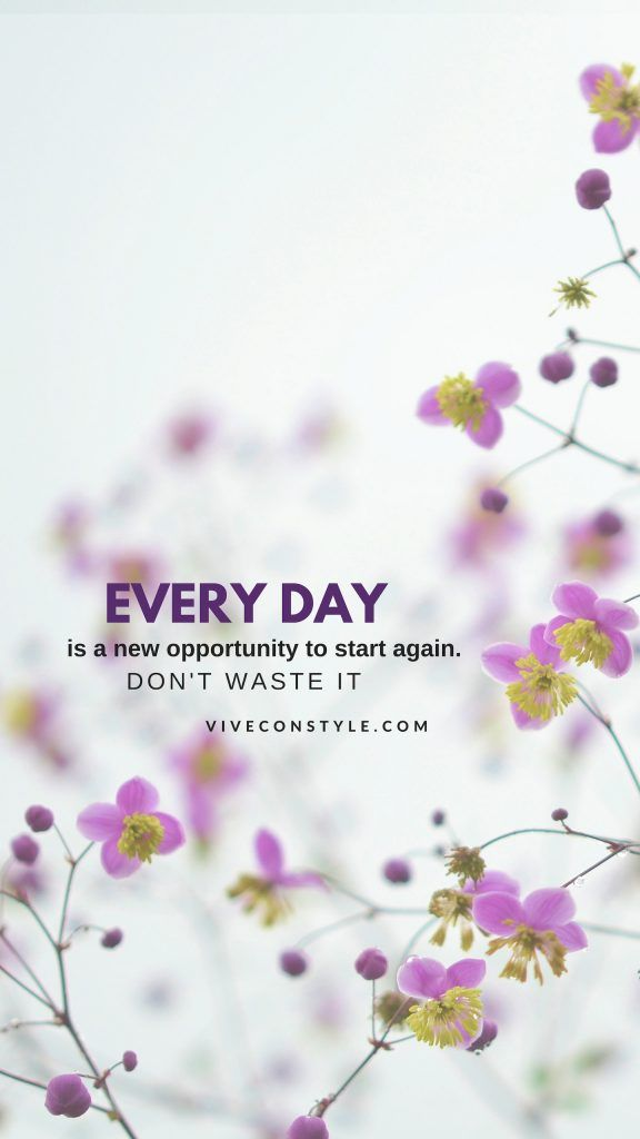 Every Day Is A New Opportunity Wallpaper Quotes New Opportunities Iphone Wallpaper