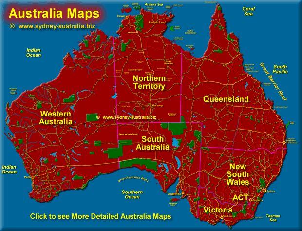 The Best Australia Map Ideas On Pinterest Map Of Australia - Map of queensland australia with cities