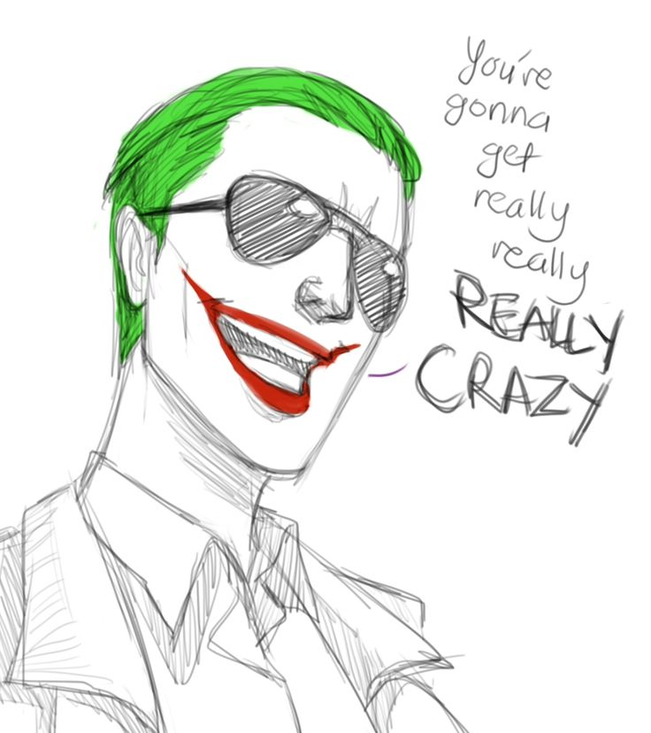 I saw the vine! and it gives me chills.. Awesome Joker voice! Assuming thats what he's going with anyways.. But Jared Leto likes to tease apparently so.. I'd be happy with this