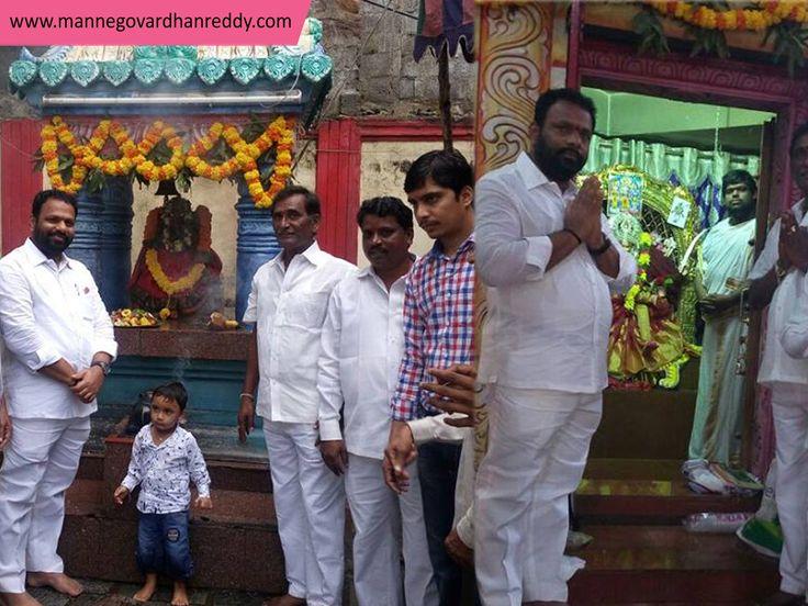 Today Manne Govardhan Reddy khairatabad incharge & contested MLA 9th day Navratri Puja & Annadanam program attend@ film nagar. #MGR, #TRSParty, #Khairatabadconstituency, #Navratri, #Pooja