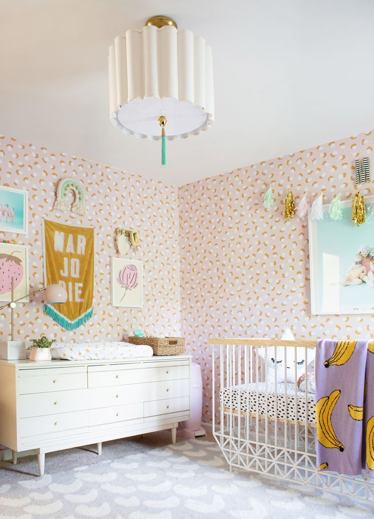 Modern And Sweet Baby Girl Room Lay Baby Lay Baby Girl Room Decor Girl Bedroom Decor Baby Girl Bedroom