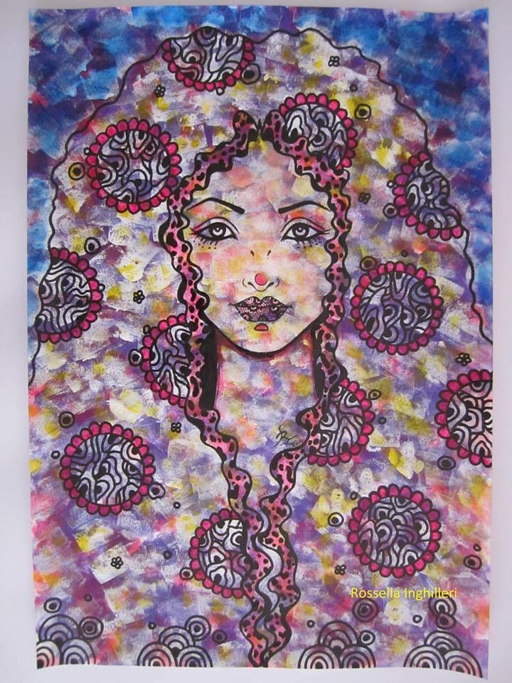 """""""Sabrina"""" Rossella Inghilleri Artist"""