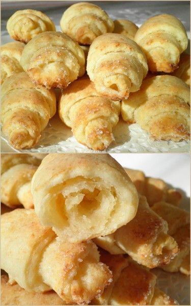 Творожные рогалики - Простые рецепты Овкусе.ру