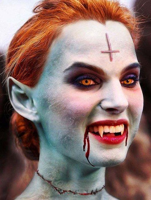 211 best Woemen images on Pinterest   Halloween make up, Make up ...