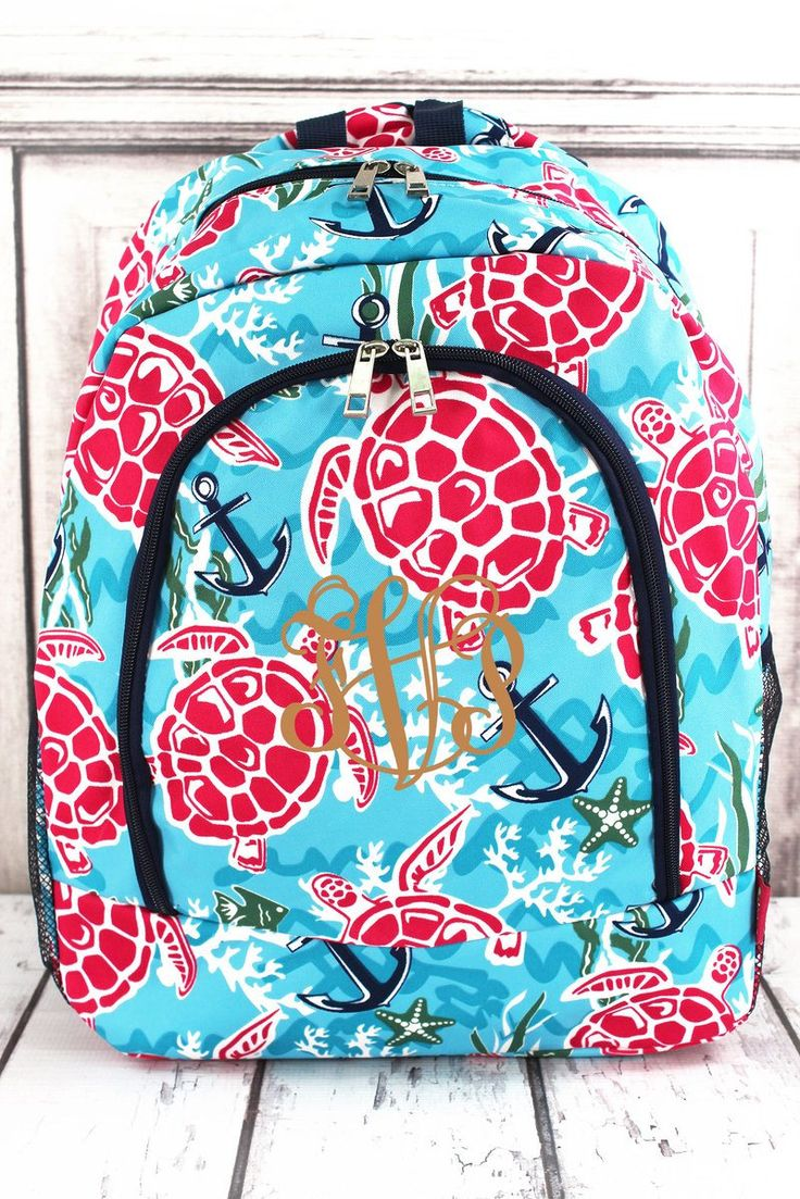 Island Delight Large Backpack/  Full Size Backpack, Backpack for Teens, Backpacks for College, Backpacks for School