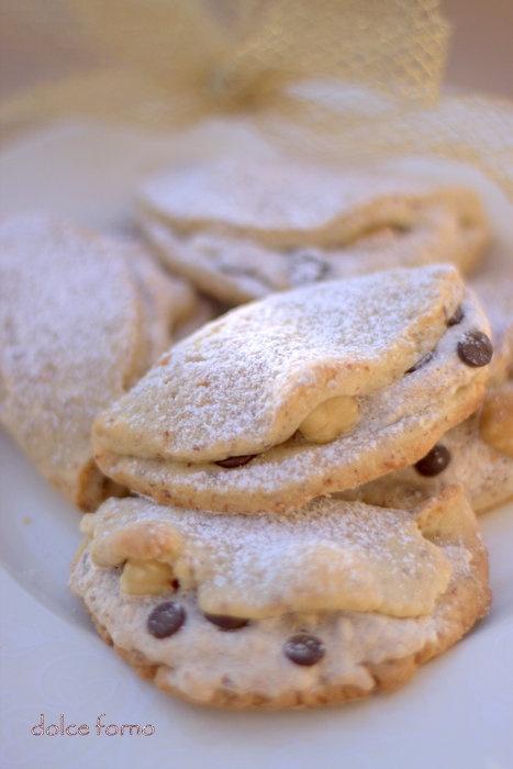 dolce forno: Fagottini alle nocciole
