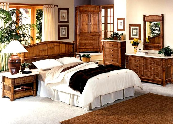 beautiful white wicker bedroom furniture | 17 Best images about Rattan and Wicker Complete Beds in ...