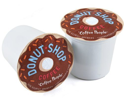 Coffee People, Donut Shop Coffee K-Cups for Keurig Brewers, 18 count - Medium Flavor Caffeinated - by Diedrich Coffee Co. - http://www.freeshippingcoffee.com/brands/coffee-people/coffee-people-donut-shop-coffee-k-cups-for-keurig-brewers-18-count-medium-flavor-caffeinated-by-diedrich-coffee-co-2/ - #CoffeePeople