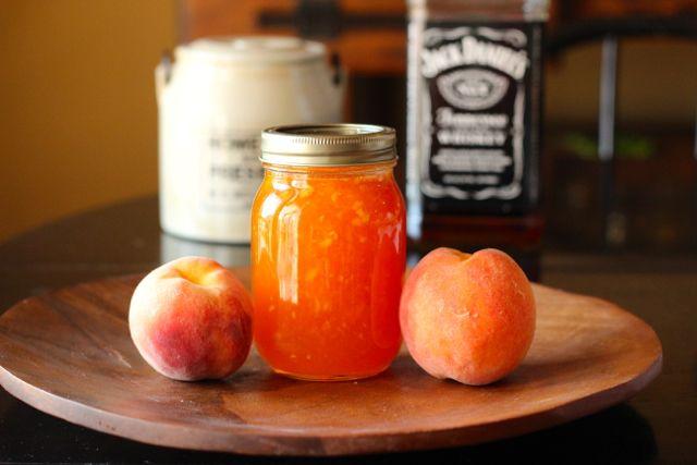 Bourbon Peach Jam | Can It | Pinterest