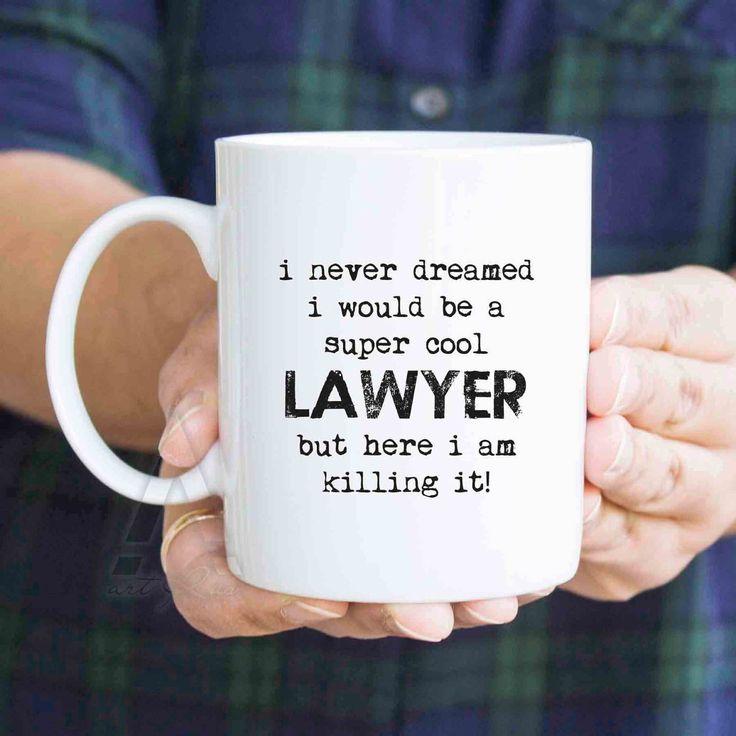 Funny Lawyer mug, coffee mugs, lawyer gifts, retirement ...