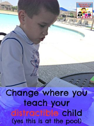 Change where you teach your distractible child
