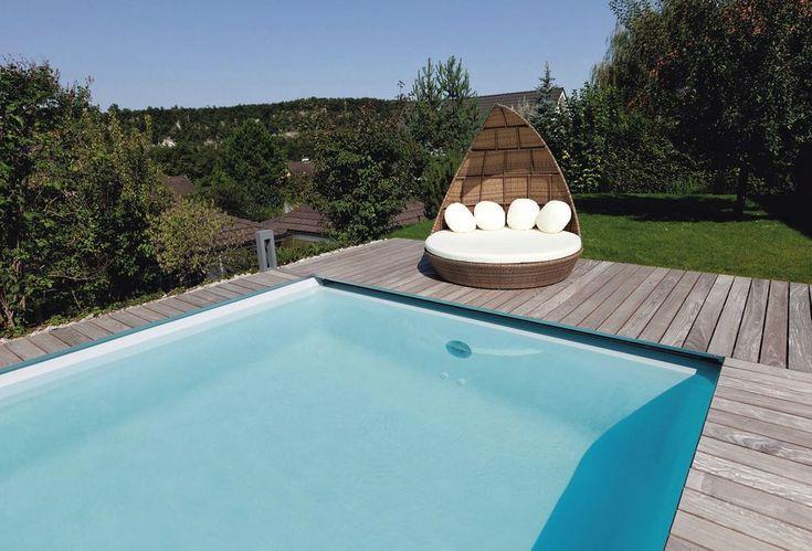 Bien choisir la taille de sa petite piscine en bois ou béton