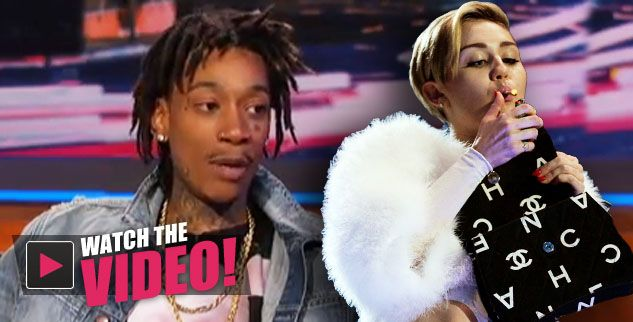 Wiz Khalifa Says Working With Miley Cyrus Was 'Insane' -- Reveals She 'Smokes A Ton' Of Weed & Was 'Blowin Like A Train' While Recording