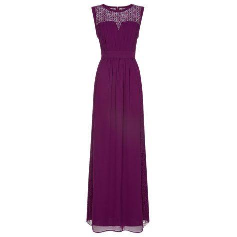 Buy Planet Lace Maxi Dress, Purple Wine Online at johnlewis.com