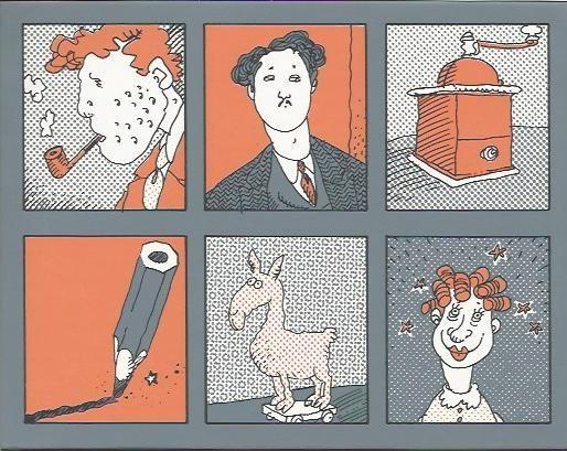 Tardi, Jacques - Le Loto de Tardi - 120 tekeningen - (1996) - W.B.