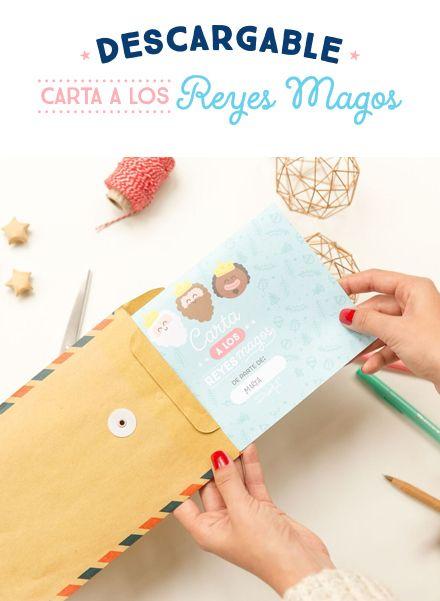 Descargable - Carta a los Reyes Magos para llenarla con todos tus deseos. | by Mr. Wonderful*