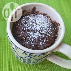 Mugcake au chocolat et aux amandes @ allrecipes.fr