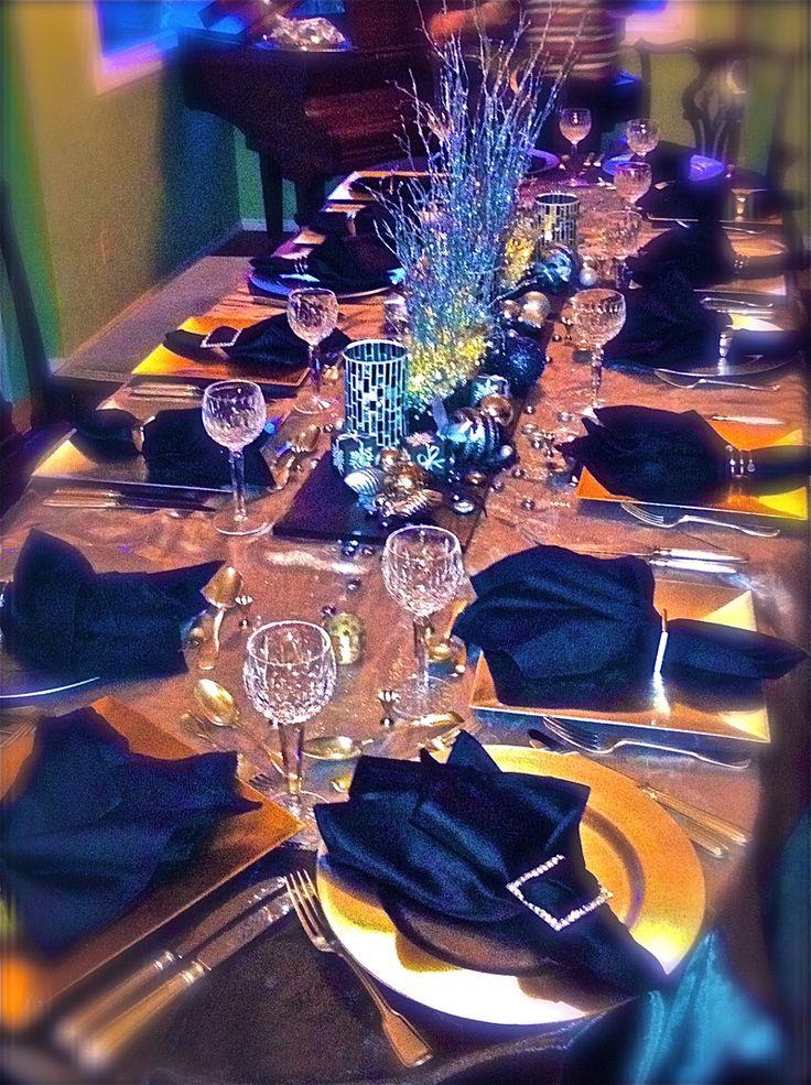 Best 10 midnight blue weddings ideas on pinterest for Midnight blue centerpieces