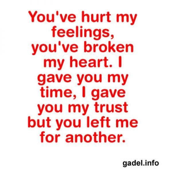 Quotes About Friends Hurting Your Feelings : Images about dark broken heart quotes on
