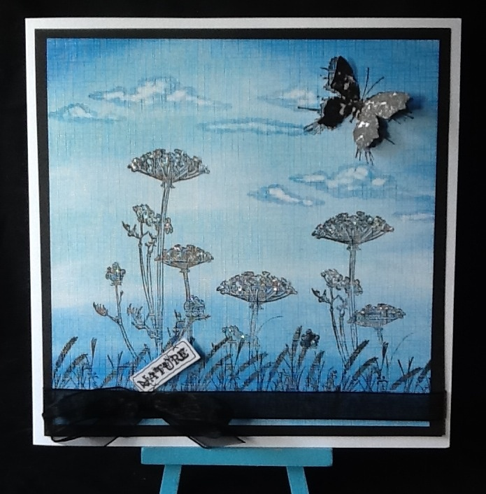 PanPastels and Nature I stamps.