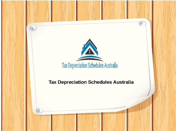 Tax Depreciation Schedules Australia gives apportion for best sales property.