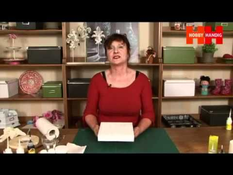 HobbyHandig legt uit hoe u gebruik maakt van shadowpainting op canvas