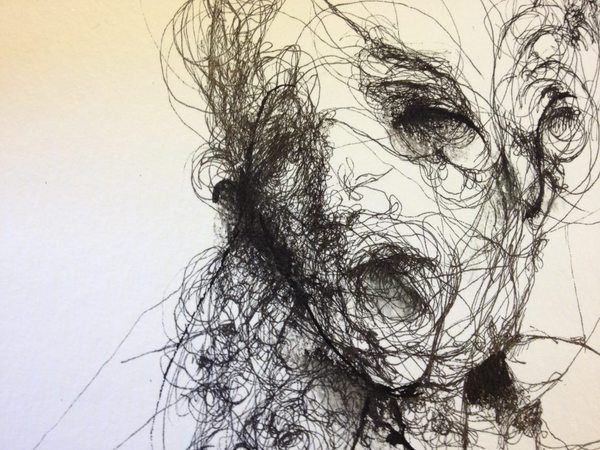 Contour Line Drawing Face : 70 best scribble art images on pinterest to draw painting and