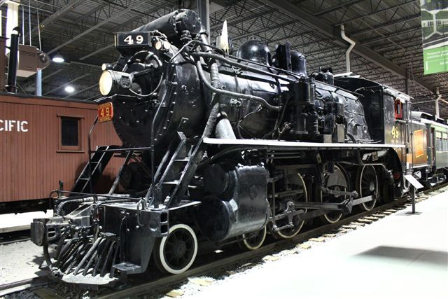 Locomotive CNR49 #exporail #trains #musée #museum