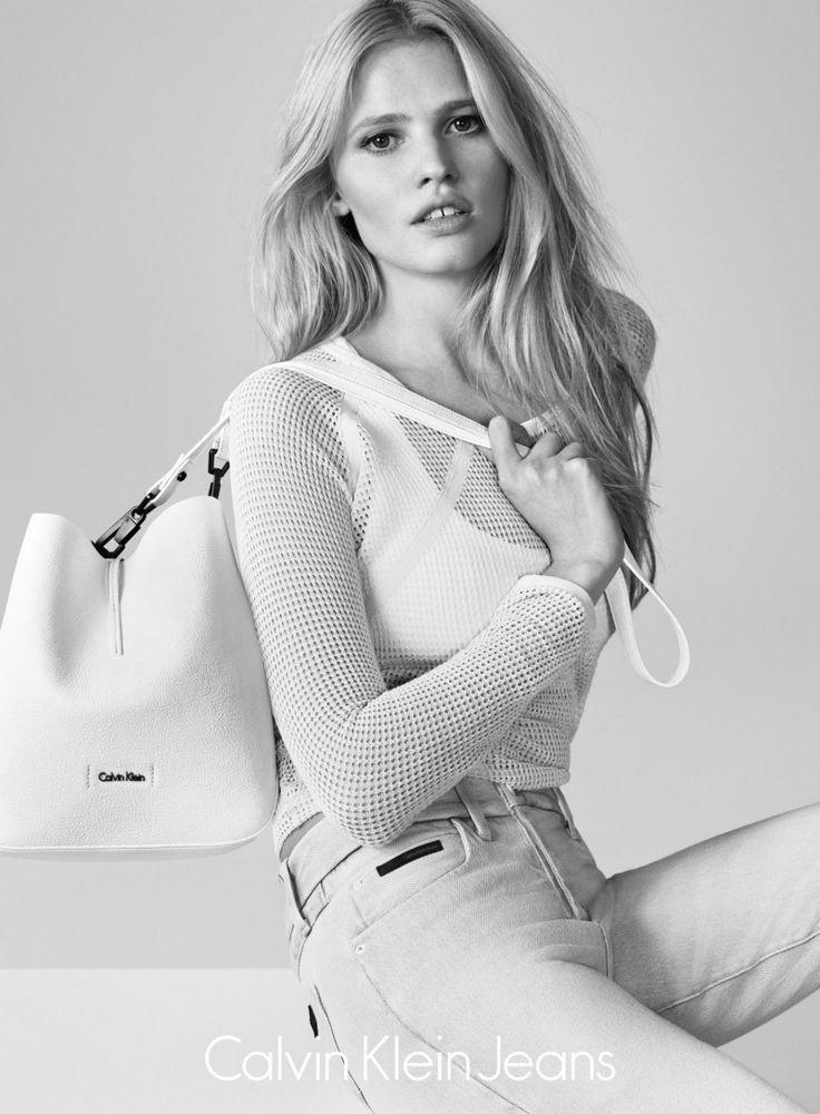 Calvin Klein Jeans. Lara Stone