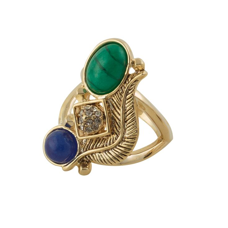 Arremon Feather Ring
