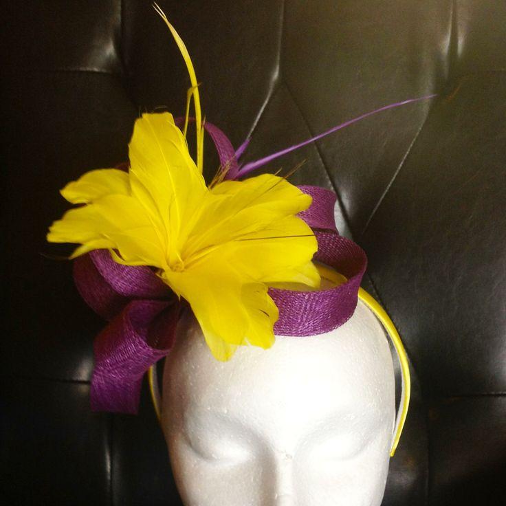 custom made purple and yellow fasciantor