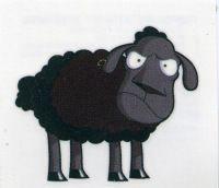Black Sheep TemporaryTattoo