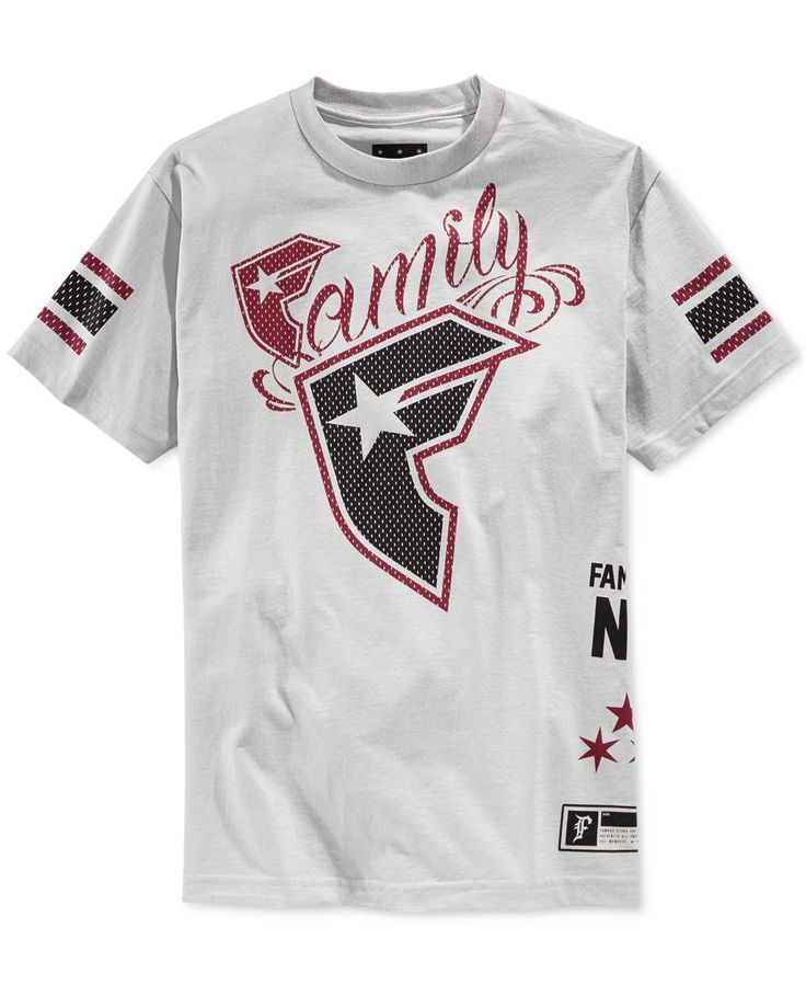 Famous Stars and Straps Family Logo Graphic T-Shirt