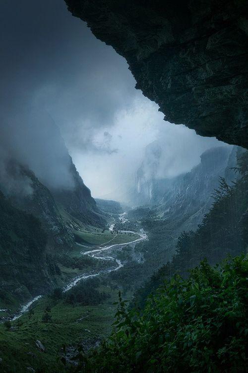 "plasmatics-life: "" Descent to Rivendell | France | (by Enrico Fossati) """